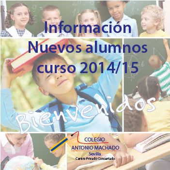 Alumnos de Nueva Admisión curso 2014/15